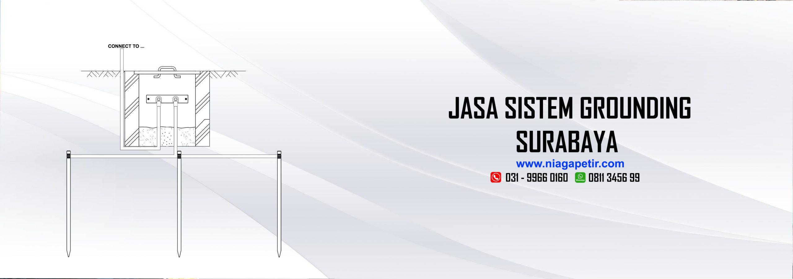 JASA SISTEM GROUNDING SURABAYA - NIAGA PETIR